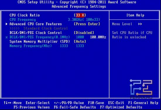Разогнать процессор фактически невозможно