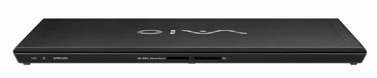�������� ����� Sony VAIO Z: ����-������ Memory Stick � Secure Digital