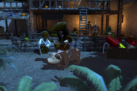 виньи почему-то тоже являются неотъемлемой частью LEGO Pirates of the Caribbean: the Video Game