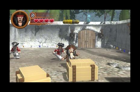 Ящик с золотом... Банально, но игра-то про пиратов