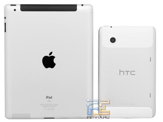 HTC Flyer и Apple iPad 2