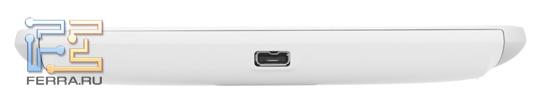 Нижний торец корпуса HTC Flyer