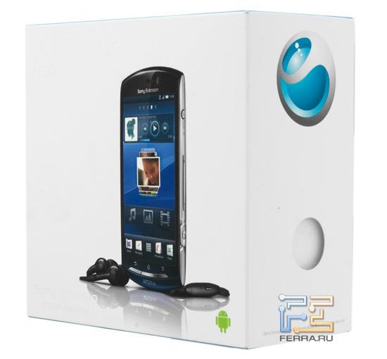 Упаковка Sony Ericsson Xperia Neo