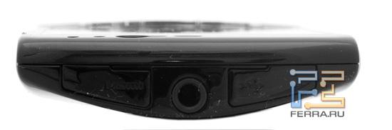 Верхний торец корпуса Sony Ericsson Xperia Neo