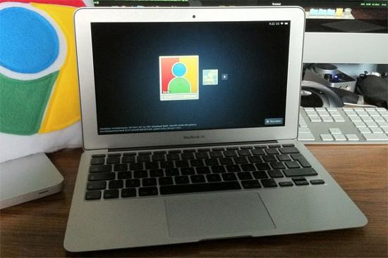 Chromium OS �� MacBook Air