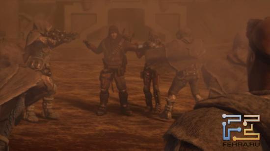 Спасителю мира даже в Red Faction: Armageddon не очень-то доверяют