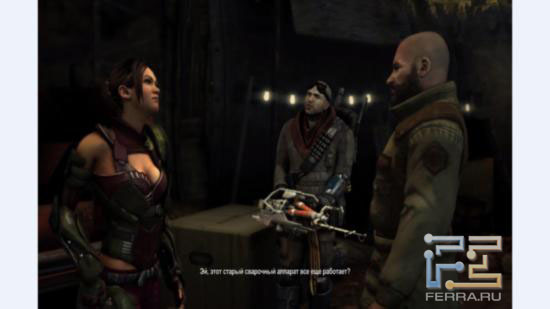 Постановочных роликов в Red Faction: Armageddon немало
