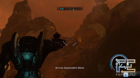 Чем хорош робот в Red Faction: Armageddon - проблем с боеприпасами нет