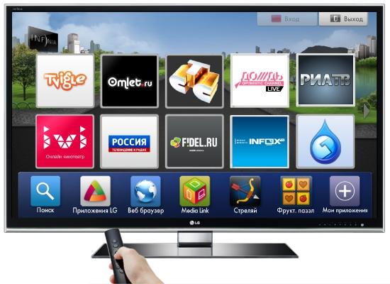 интернет телевидение для smart tv