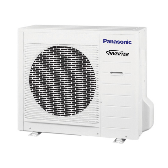 Внешний блок кондиционера Panasonic с инвертором
