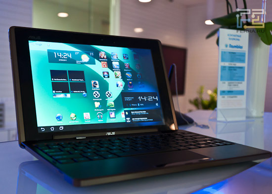 Asus Transformer — ������ ������� �� Android � ����������� ���������� �����������