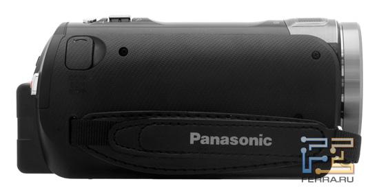 Правая боковая граница корпуса Panasonic HDC-SD800