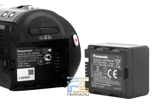 Аккумуляторная батарея Panasonic HDC-SD800