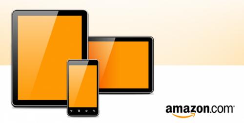 Планшеты Amazon, макет