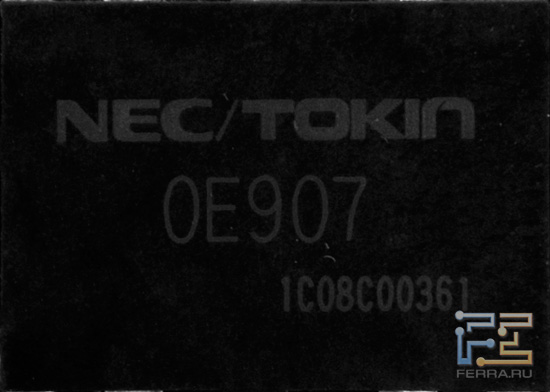 ASUS Matrix GTX 580, Prodalizer NEC/TOKIN