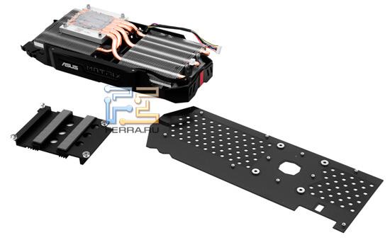 Система охлаждения ASUS Matrix GTX 580