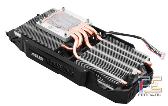 Кулер графического процессора ASUS Matrix GTX 580
