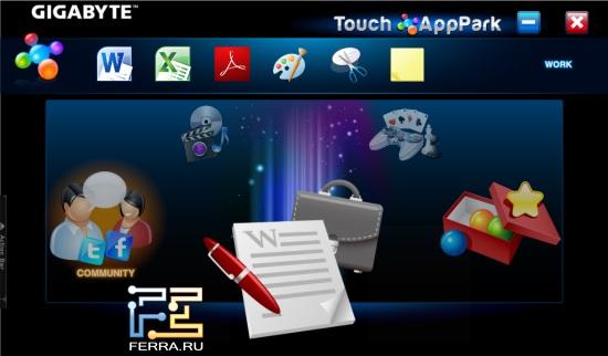 AppPark на Gigabyte S1080