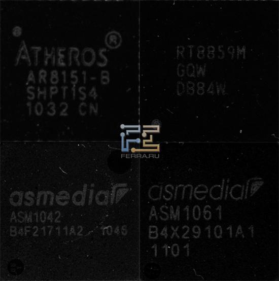 Чипы на материнской плате ASRock H61M-U3S3
