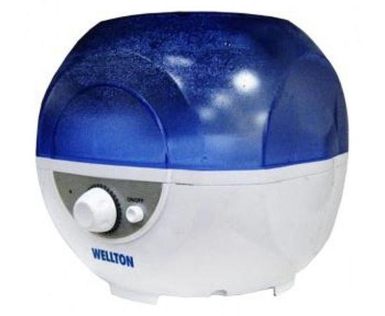 Небольшой паровой увлажнитель Wellton WUH-445 потребляет мало электричества, но обладает очень небольшим резервуаром - всего 2.5 литра