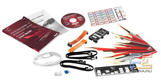 Комплект поставки материнской платы ASUS Crosshair V Formula
