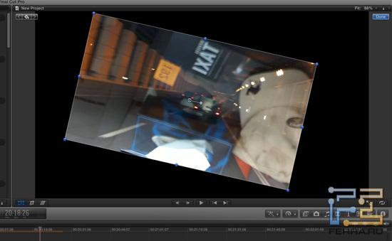 Вырезание фрагментов видео в Final Cut Pro X