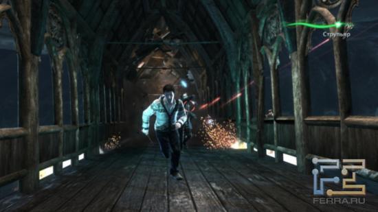В постановочных сценках Harry Potter and the Deathly Hallows: Part 2 герои могут не только удирать от опасности, но и отстреливаться на бегу