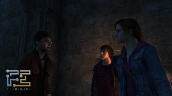Мозговые штурмы в Harry Potter and the Deathly Hallows: Part 2 редки, однако встречаются
