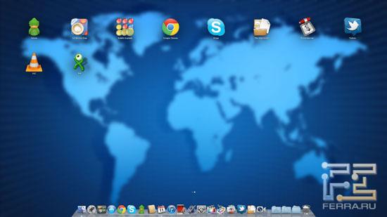 LaunchPad в Mac OS X Lion
