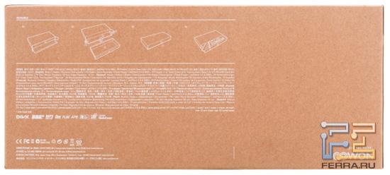 Упаковка Cowon C2