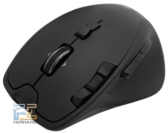 Мышь Logitech Gaming Mouse G700 во всей красе