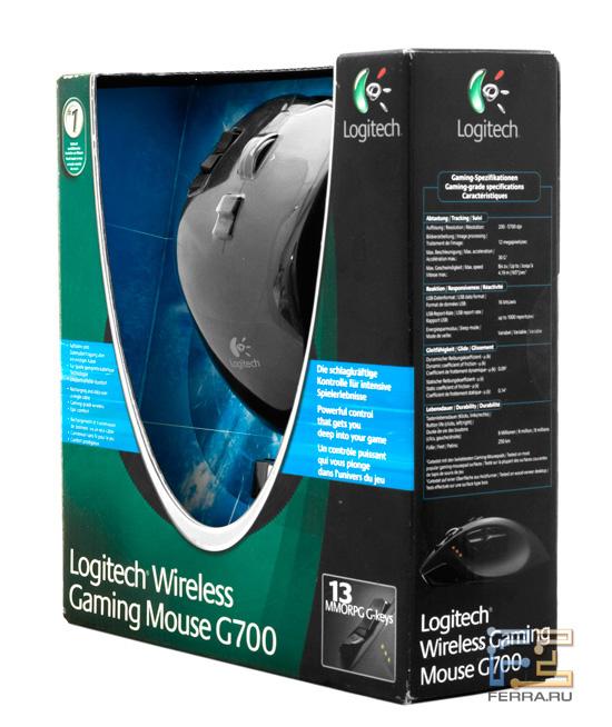 Logitech Gaming Mouse G700 в упаковке