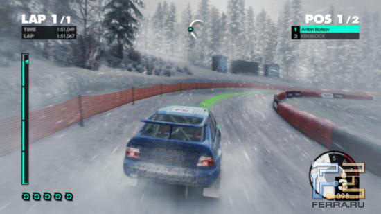 Снежная пурга не помешает одержать победу над одним из самых известных автогонщиков, который в DiRT 3 озвучил немало полезных советов
