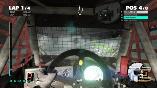 Вождение багги в DiRT 3 легким не назвать - из кабины, например, с обзорностью явные проблемы