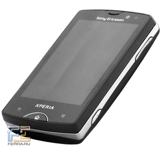 Общий обличье Sony Ericsson Xperia mini pro
