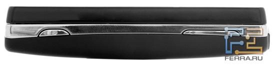 Правая боковая грань Sony Ericsson Xperia mini pro