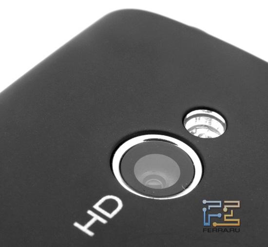 Объектив встроенной камеры Sony Ericsson Xperia mini pro