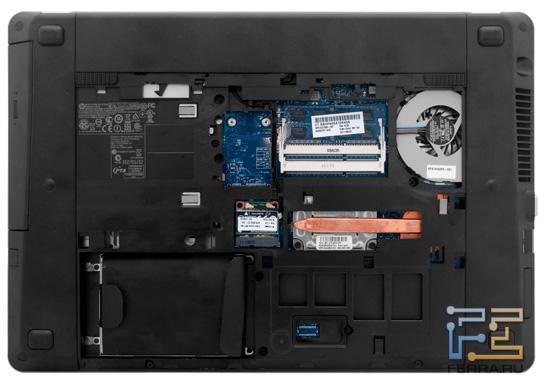 Возможности обновления HP ProBook 4530s