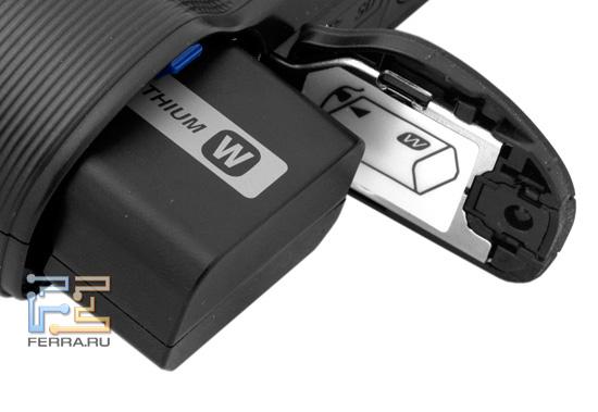 Батарейный отсек Sony NEX-C3