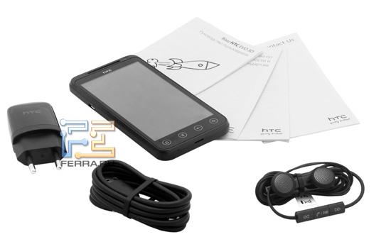 Комплектация HTC Evo 3D