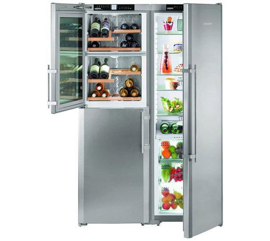 «Холодильник-шкаф» (или side-by-side) Liebherr SBSes 7165