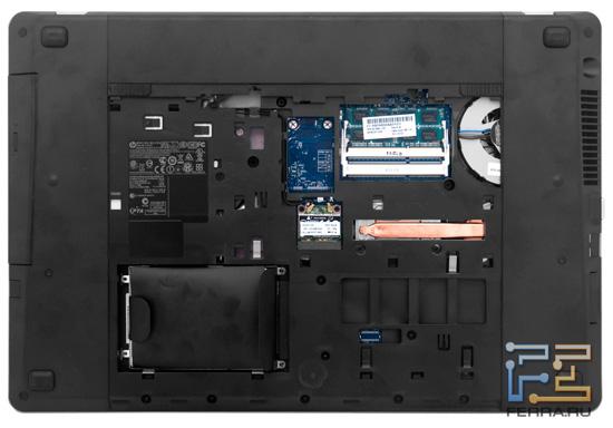 Возможности обновления HP ProBook 4730s