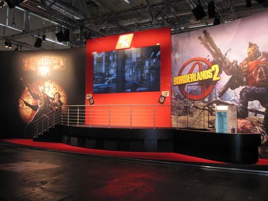 Издательство Take-Two на GamesCom 2011 привезло три безусловных хита ДюФю Noire, Borderlands 2 и BioShock: Infinite