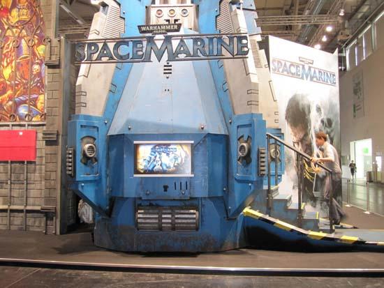 Warhammer: Space Marine на GamesCom 2011 показывали в последний раз перед релизом в этой капсуле в проект можно было поиграть