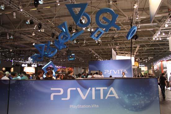 PlayStation Vita на GamesCom 2011 была номером один для Sony