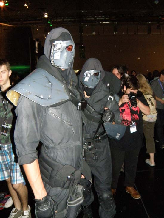 Немецких фриков на GamesCom 2011 хватало