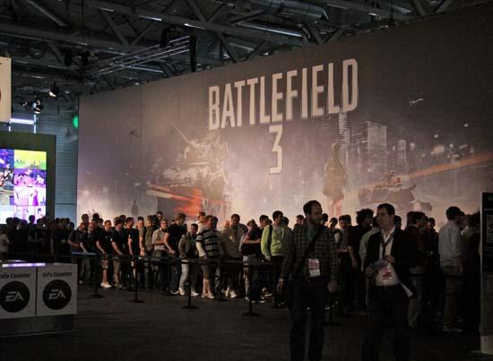 Ради того, чтобы провести с Battlefield 3 хотя бы несколько минут, посетители GamesCom 2011 готовы были часами потеть в очередях