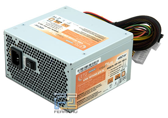 Внешний вид блока ETG ESP-450-12G-A