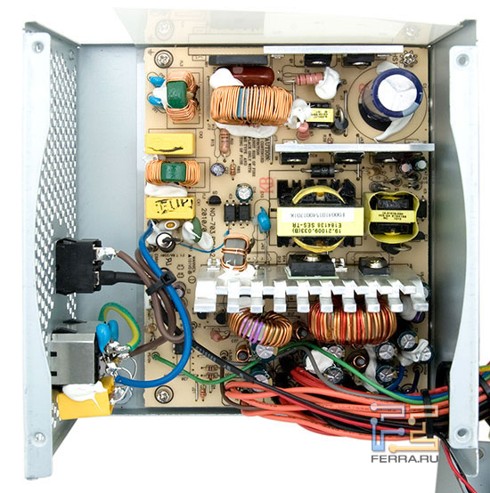 Внутреннее устройство ETG ESP-450-12H-A