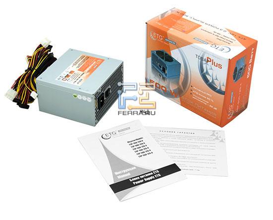 Комплект поставки ESP-500-12G-A